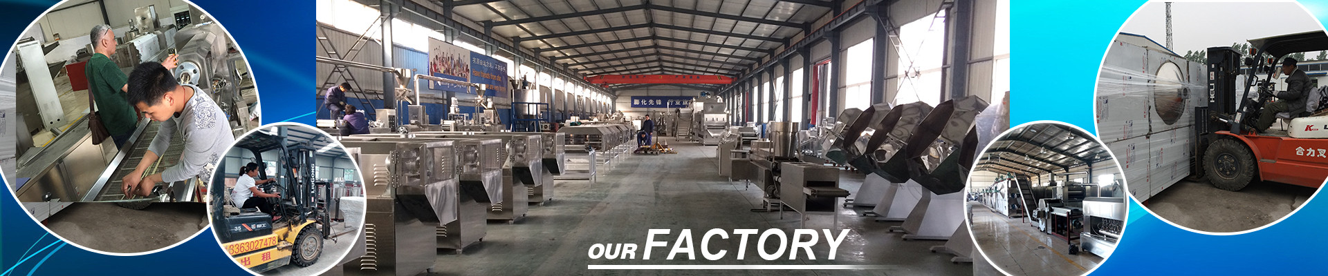 snack food making machine factory