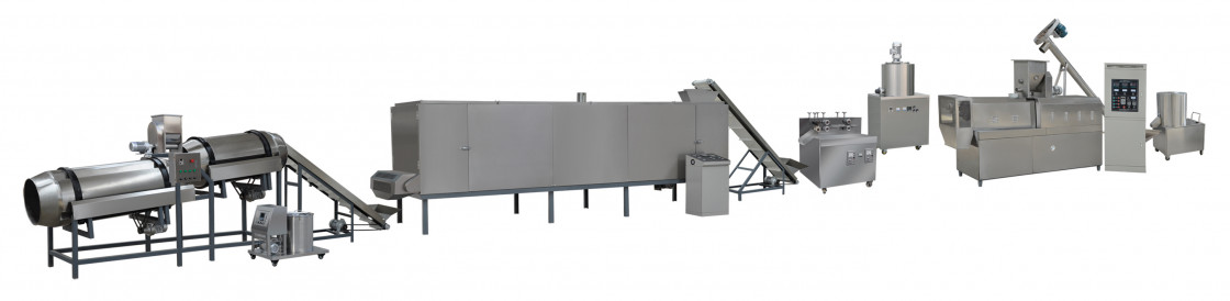 extruded potato snacks processing line