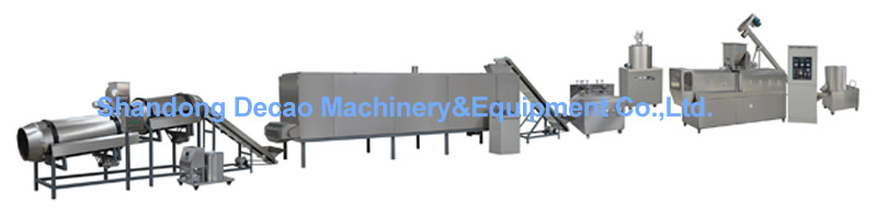 extruded bread sticks processing line