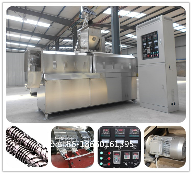 Big output Fish Feed Extruder Machine Fully automatic