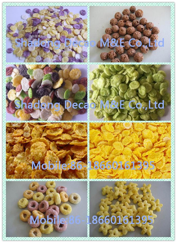 Hot Popular Corn Flakes Maker