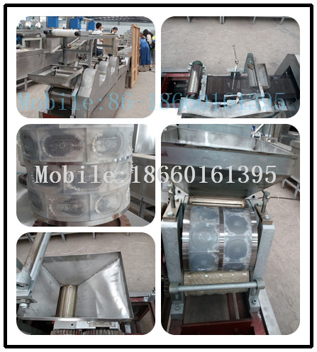 50-60kg/h Stainless steel wide output range small biscuit making machine
