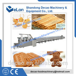 Professional Industrial biscuit making machine price with certificate
