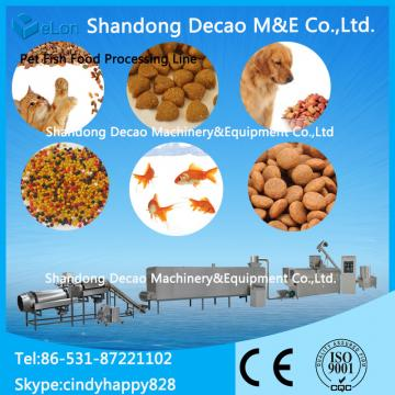 automatic pet / dog food production line / extruder machine