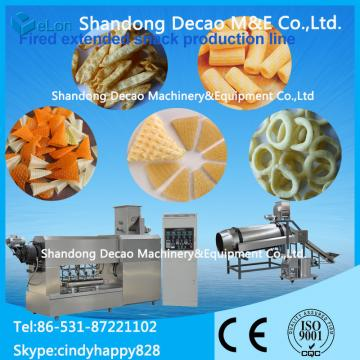 2d 3d  snack pellets processing line / machine