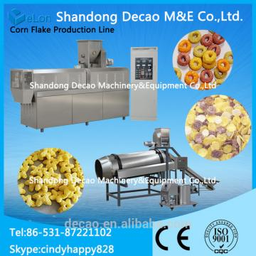 Hot Popular Corn Flakes Maker / Breakfast Cereals Processing Line