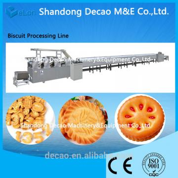 Professional Small scale machinery biscuit with certificate