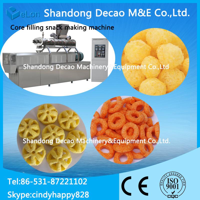 Small Scale Cheese Puffing Machine / corn pops making machine