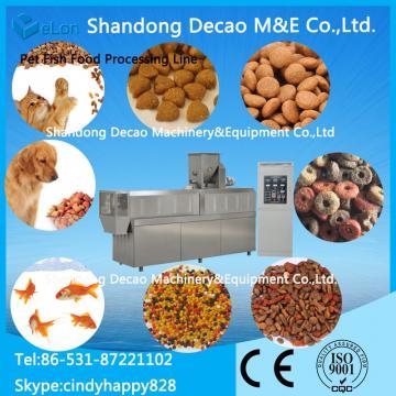 automatic pet / dog food production line / extruder machine