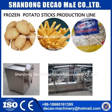 Industrial 100kg per hour french fries  frying machine factory price