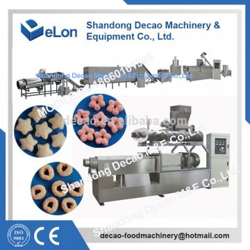 extruded potato snacks processing line
