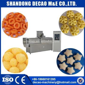 corn curls processing line extruder