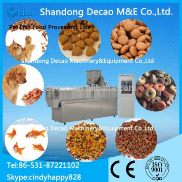 Best selling extruder pet food factory