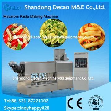 automatic stainless steel pellet snacks extruder food processing industries
