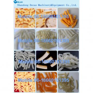 automatic stainless steel spiral potato sticks production line manufacturer