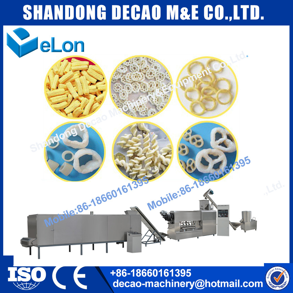automatic stainless steel spiral potato sticks production line factory