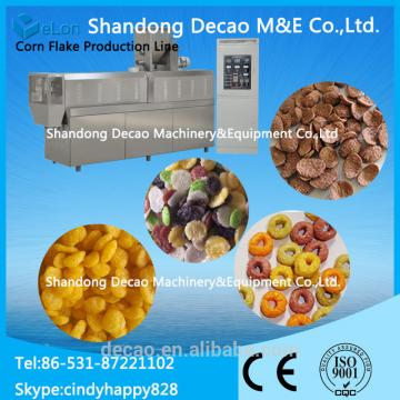 Extruded Corn Flakes Snack Food Machine