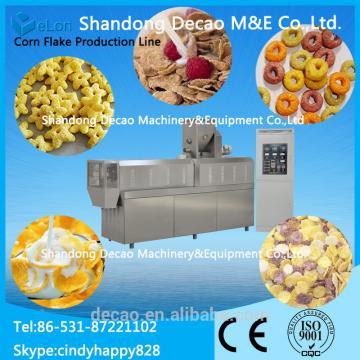 Corn flakes snacks machine