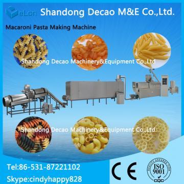 automatic single screw pasta making machine processing equipment