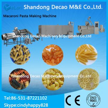 automatic pasta macaroni making equipment