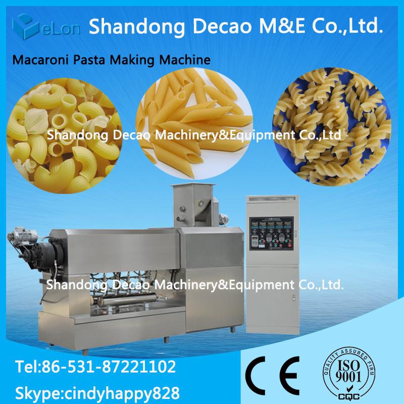 automatic pasta processing machine