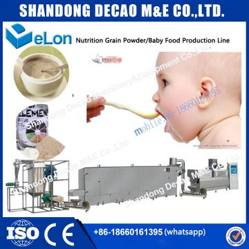 instant baby food nutrition powder production line