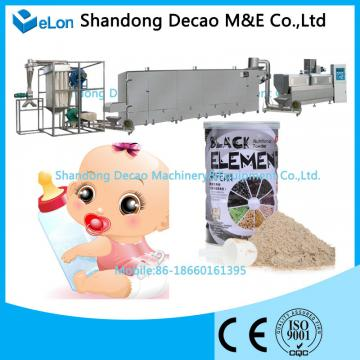 nutrition black rice powder instant baby food making machine processing line
