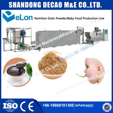 high quality powder instant baby food making machine