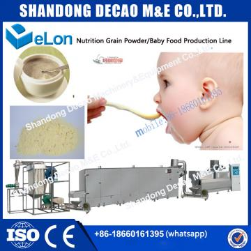 nutritional powder making extruder