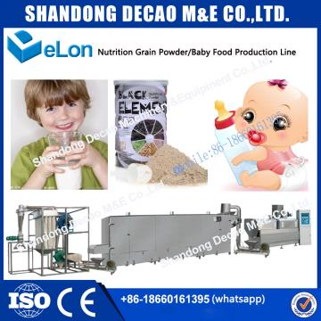 nutritional powder baby food processing line