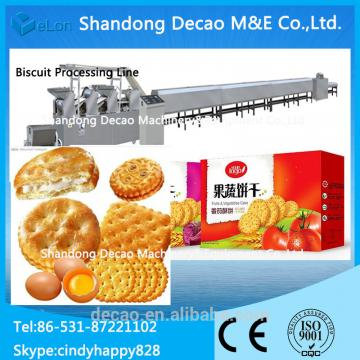 100kg/h Stainless steel biscuit making process