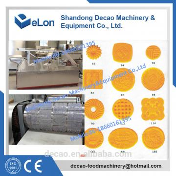 50-60kg/h Stainless steel cookies production line