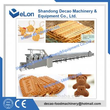 150-200kg/h Stainless steel biscuit manufacturing process