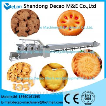 50-60kg/h Automatic biscuit machine for sale
