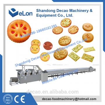 50-60kg/h Stainless steel biscuit machine manufacturers