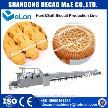 100kg/h Automatic biscuit making machine industrial