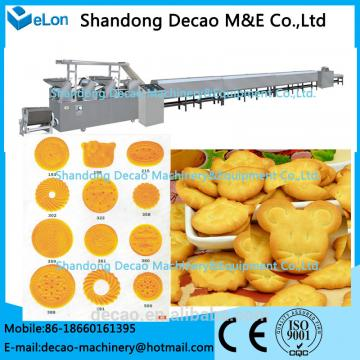 50-60kg/h Stainless steel biscuit making machinery