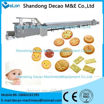 Professional Small scale biscuit maker machine with certificate