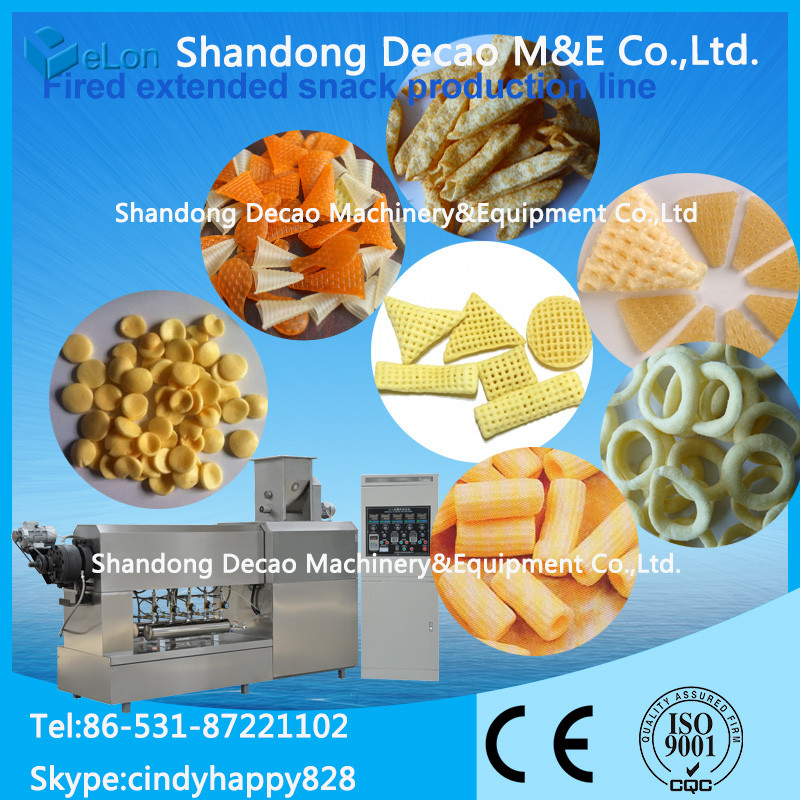 automatic stainless steel machine for snack pasta products food processing industries