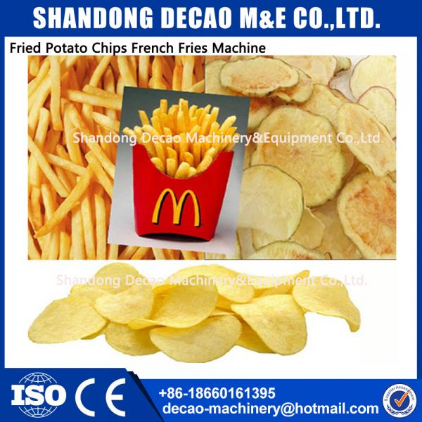 Small Business   Fried potato chips / Sticks French Fries machinery equipment #1 image