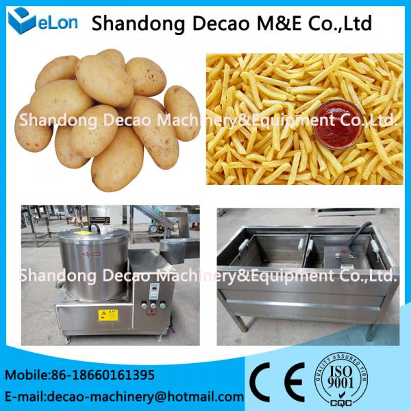 50-60kg potato chips processing line /   French Fries  machinery #1 image